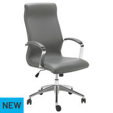 Hygena Managers Chair - Grey