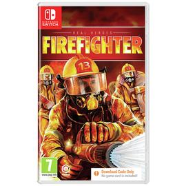 Real Heroes: Firefighter Nintendo Switch Game Pre-Order