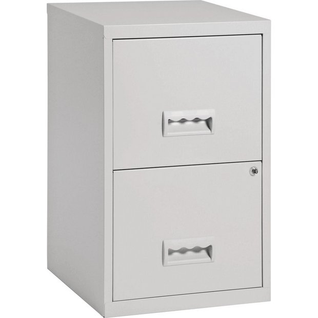 Buy Pierre Henry 2 Drawer Filing Cabinet Grey Filing