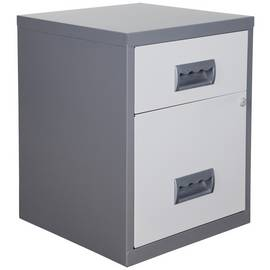 Pierre Henry 2 Drawer Combi Filing Cabinet
