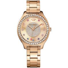 Juicy Couture Ladies' Sierra Rose Gold Plated Bracelet Watch