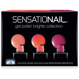 SensatioNail Brights Gel Polish - Set of 3