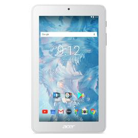 Acer Iconia One 7 B1-7A0 SD 7-Inch Tablet - (White) (Mediatek MT8167, 1 GB RAM, 16 GB eMMC, Android 7.0) Best Price and Cheapest