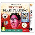more details on Dr Kawashima's Devilish Brain Training 3DS Pre-Order Game.
