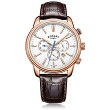 Rotary Men's Rose Gold Colour Monaco Chronograph Watch