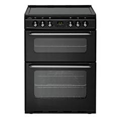 New World EC600DOm Double Electric Cooker - Black