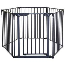 Dreambaby Royale Converta 3-in-1 Playpen Gate - Charcoal