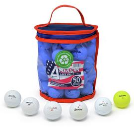 Lake Golf Balls - 50 Pack of Refurbished Balls