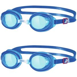 Zoggs Pack of 2 Junior Ripper Goggles - Blue
