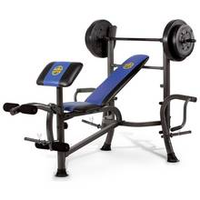 Marcy Starter Bench- 36kg Weight Set