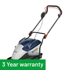 Spear & Jackson - 36cm Hover Collect Lawnmower - 1800W Best Price and Cheapest
