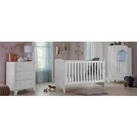 Cuggl Oxford 3 Piece Furniture Set - White