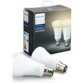 Philips Hue White B22 White Ambiance Twin Pack