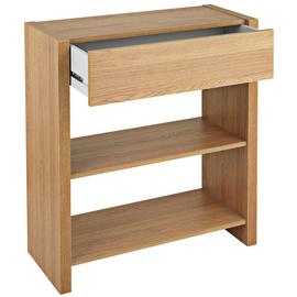 Argos Home Slimline Console Table - Oak Effect