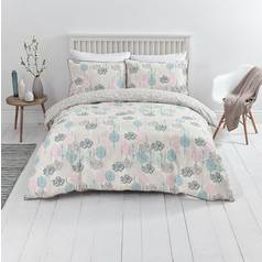 Sainsbury's Home Nordic Sky Tree Print Bedding Set - Single