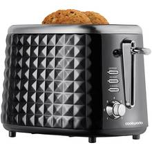 Cookworks Textured Toaster - Black