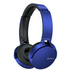 Sony MDR-XB650BT On-Ear Headphones - Blue