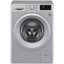 LG F4J5TN4L 8KG 1400 Spin Washing Machine - Silver Best Price, Cheapest Prices