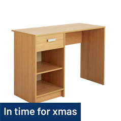 Argos Home Chadwick Desk - Oak Effect