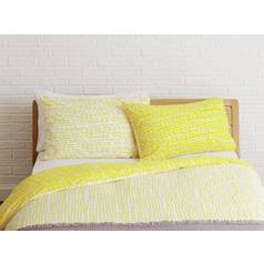 Habitat Trene Rectangular Pillowcase - Yellow