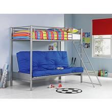 Buy Home Ohio Single High Sleeper Bed Frame White At