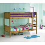 more details on HOME Detachable Single Bunk Bed Frame - Pine.