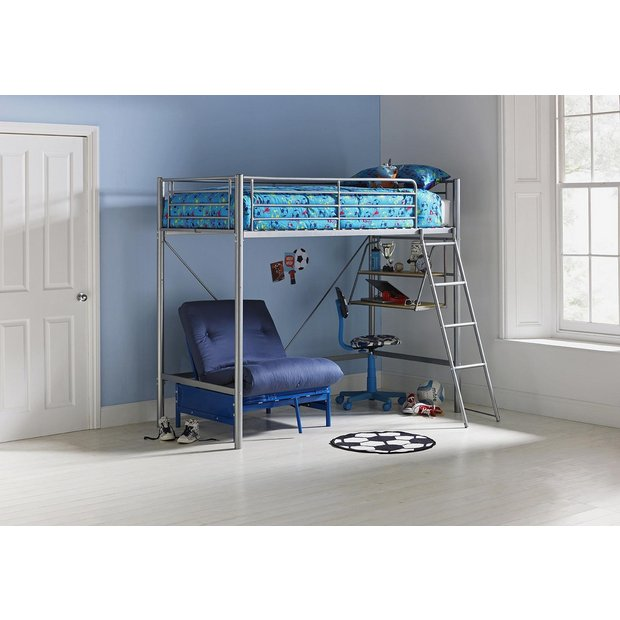 Buy Home Sit N Sleep Metal High Sleeper Frame Amp Futon