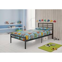 HOME Drew Single Bed Frame - Black