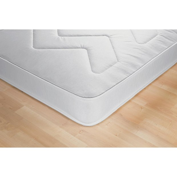 Buy airsprung izzy single rolled mattress white at argos for Online shopping for mattresses