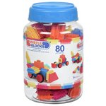 more details on Bristle Blocks in a Jar - 80 Pieces.