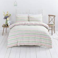 Sainsbury's Home Garden Stripe Duvet Cover Set - Double