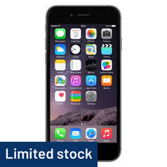 SIM Free iPhone 6 16GB Refurbished Mobile Phone - Space Grey