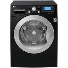 LG FH495BDN8 12KG 1400 Spin Washing Machine - Black Best Price, Cheapest Prices