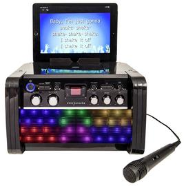 Easy Karaoke EKS213-BT Bluetooth Karaoke Machine