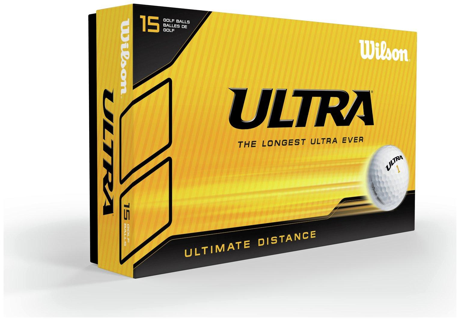 Wilson Ultra Distance Golf Balls 15 Pack