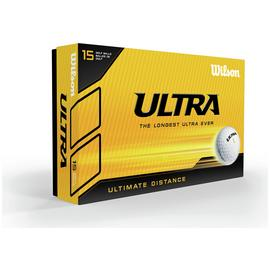 Wilson Ultra Distance Golf Balls - 15 Pack
