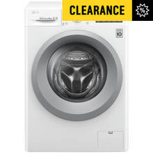 LG F4J5TN4WW 8KG 1400 Spin Washing Machine - White