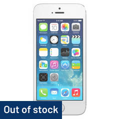 SIM Free iPhone 5S 16GB Refurbished Mobile Phone - Silver