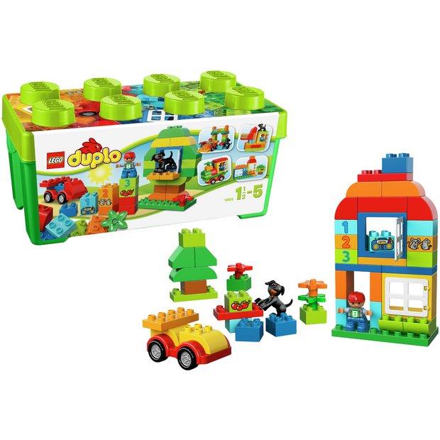 Buy Lego Duplo All In One Box Of Fun Set 10572 Lego Argos