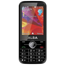 SIM Free Alba Mobile Phone - Black