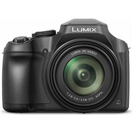 Panasonic Lumix FZ82 18MP 60x Zoom Bridge Camera - Black
