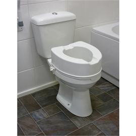 6 Inch Raised Toilet Seat without Lid