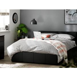 Argos Home Lavendon Double Ottoman Bed Frame - Black