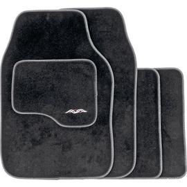 Deep Pile Universal Carpet Super Deluxe Car Mats – Black