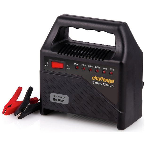 buy challenge 6 amp 12v automatic car battery charger at argos co buy challenge 6 amp 12v automatic car battery charger at argos co uk your online shop for battery chargers and engine starters car maintenance