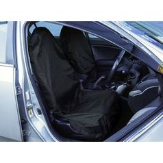 Streetwize Water Resistant 2 Front Car Seat Covers Black