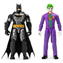 DC Batman & Joker 4 Inch Figures 2 Pack
