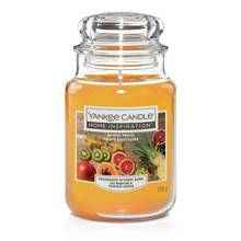 Home Inspiration Large Jar Candle - Exotic Fruits