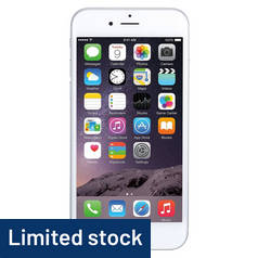 SIM Free iPhone 6 16GB Refurbished Mobile Phone - Silver