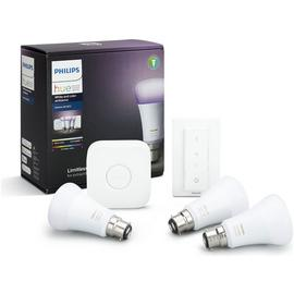 Philips Hue White and Colour Ambience B22 Starter Kit